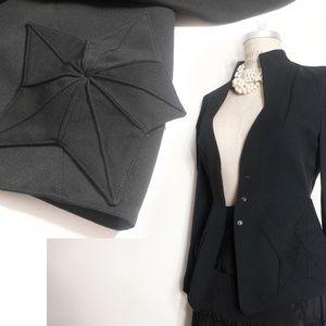Museum worthy Thievery Mugler star jacket black wo